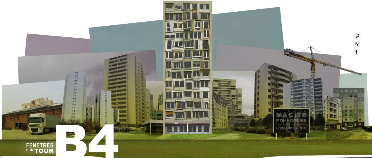 Webdocu Actu : «B4, fenêtres sur tour» (Jean-Christophe Ribot)