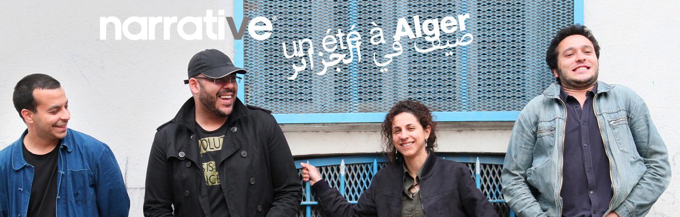 Webdocu Actu: «Un été à Alger» (Aurélie Charon, Caroline Gillet)