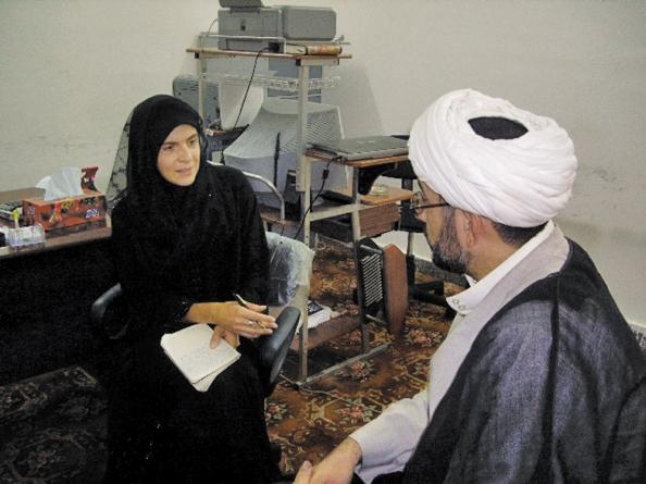 Anne Nivat en Afghanistan (2008)