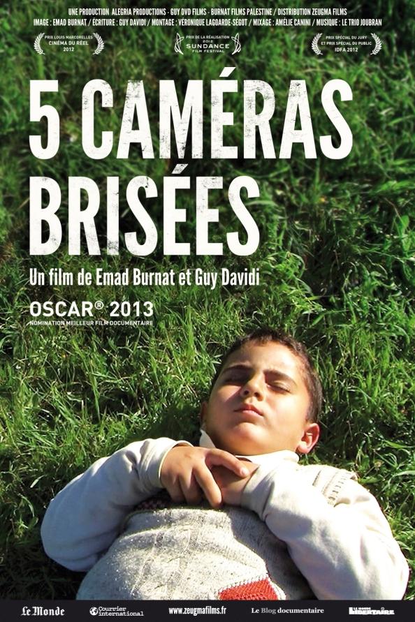 5 cameras brisees