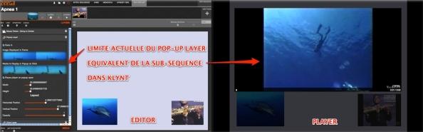 Le Popup Layer de Zeega, seule fonction interactive intra-frame, pour l'instant.