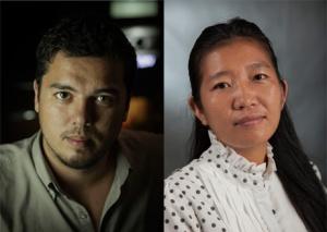 Guillaume Suon et Lida Chan.