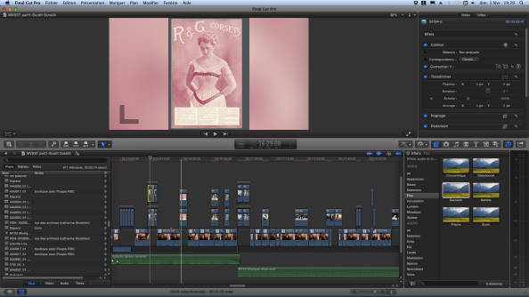 FCPX - interface