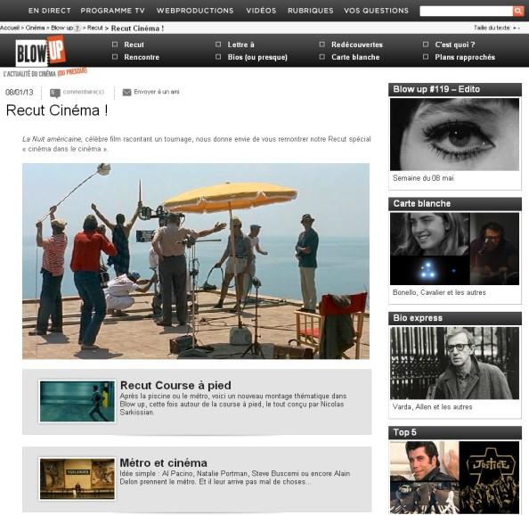 Blow up - Arte TV