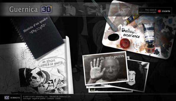 """Guernica"" - 1er webdoc espagnol (2007)"