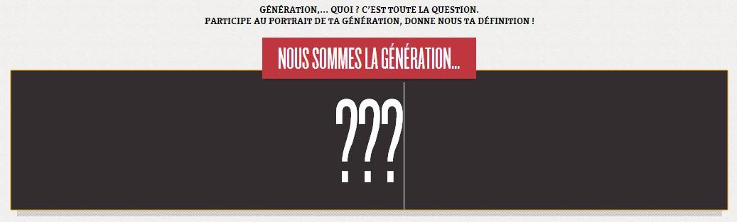 «Génération quoi ?», média éphémère (web)documentaire