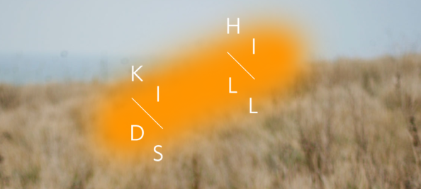 kids up hill logo Une