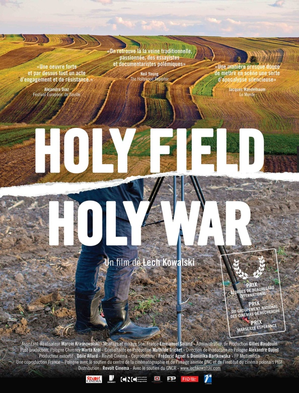holy field holy war affiche