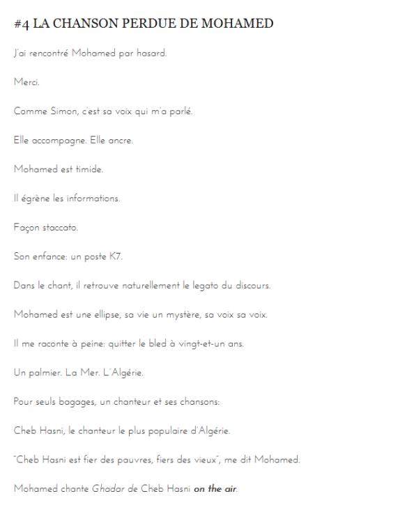 Chanson-Mohamed