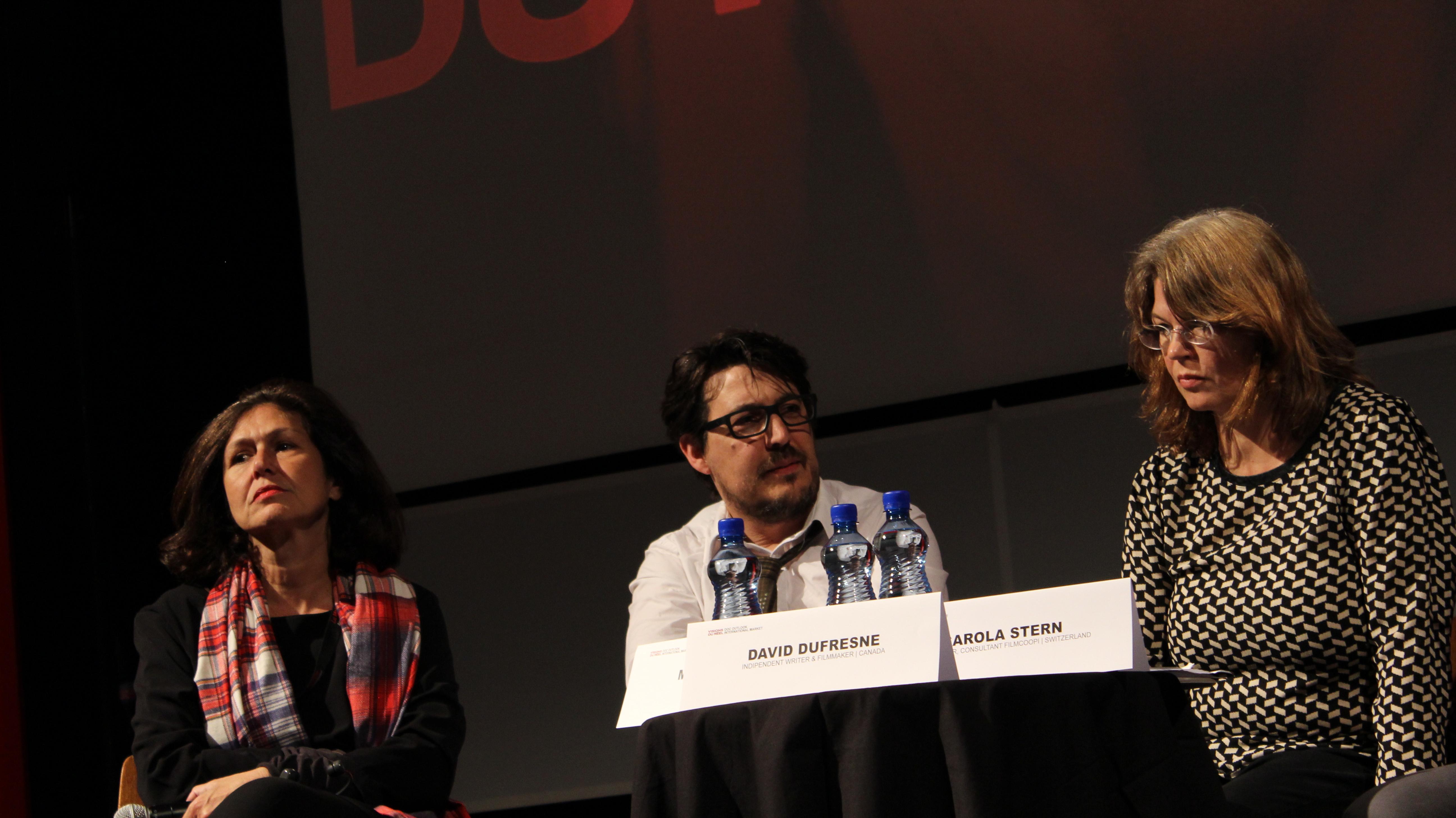 Martine Saada (ARTE) et David Dufresne
