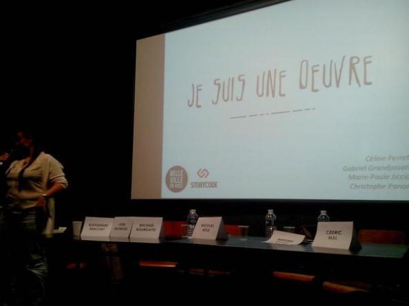 Séance de pitchs au Festival des Nouveaux cinéma documentaires - Story Hackathon Paris – © Storycode Paris